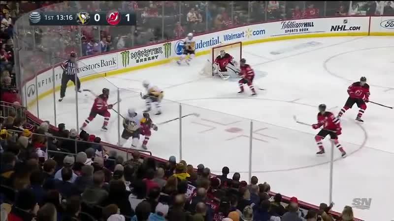 NHL Highlights Penguins vs. Devils - Feb 19, 2019