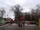 Тернопіль. підстригають Старий парк 2013-04-11