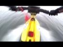 Зимой на гидроцикле