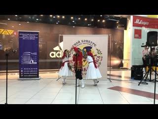 Трио ансамбля песни и танца