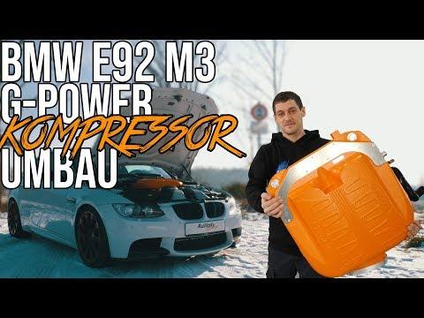 BMW E92 M3   G-Power Kompressor Umbau   Aulitzky Tuning