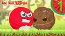КРАСНЫЙ ШАРИК EVOLVED в деревне 1 Начало Игра Мультик Красный Шарик Red Ball Evolved на ArbuZGame