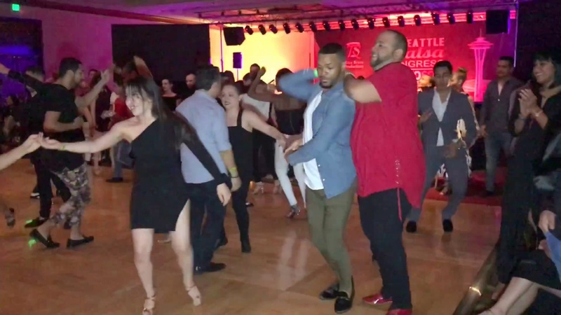 ANTONIO DOZA ALEX MOREL SALSA DANCE @ SEATTLE SALSA CONGRESS 2017