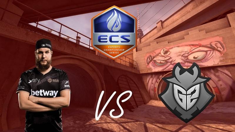POV - f0rest (NiP)(27-17) vs G2 overpass ECS Season 6