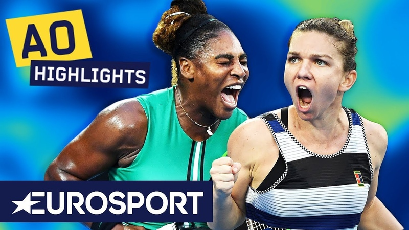 Serena Williams vs Simona Halep Highlights | Australian Open 2019 Round 4 | Eurosport