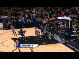 International Play of the Day: Bogut Finishes the Fast Break