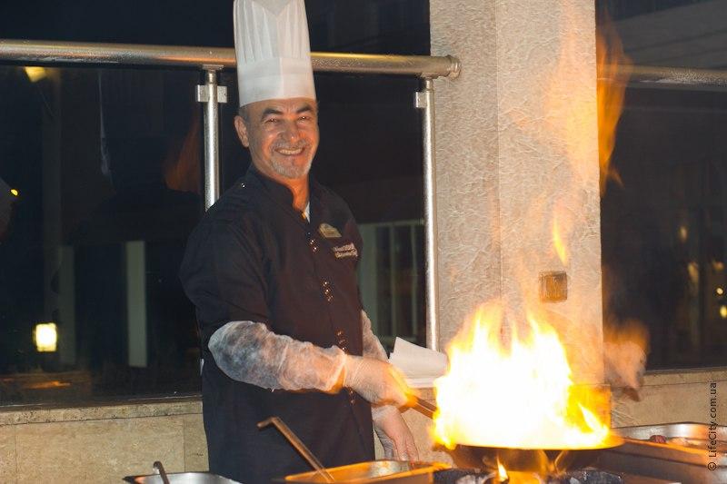 Шев-повар ресторана L`oceanica