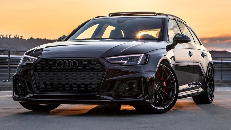 BEST LOOKING RS4 EVER - THE 530HP AUDI RS4-R AVANT - All black everything (Optics, wheels etc)