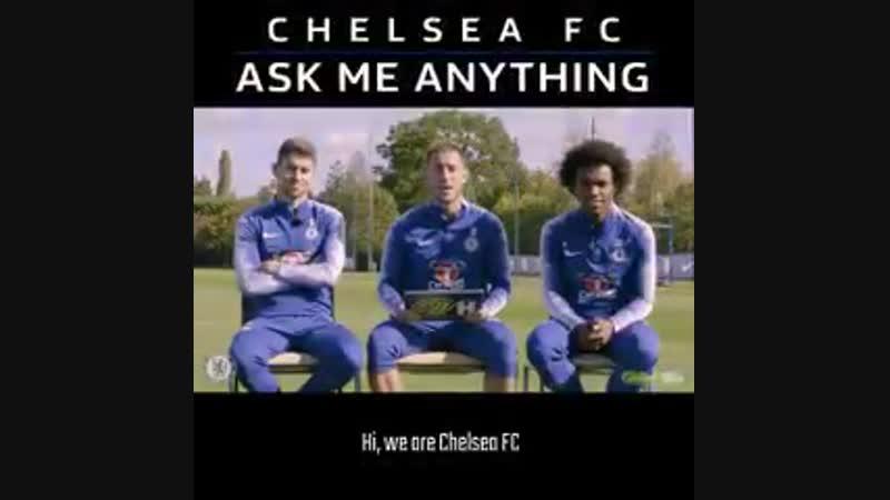 Jorginho, Hazard and Willian vk.com/uefa_fans