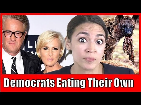 Amazon New York Cancellation Causes Morning Joe Panel to Attack AOC (Democrats Eat Their Own)