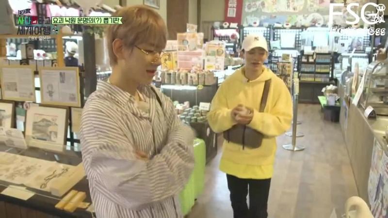[РУС.САБ] EXO-CBX @ Travel the world on EXO's ladder, Episode 9