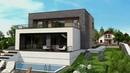 Двухэтажный современный дом в стиле модерн Zx155 от Z500