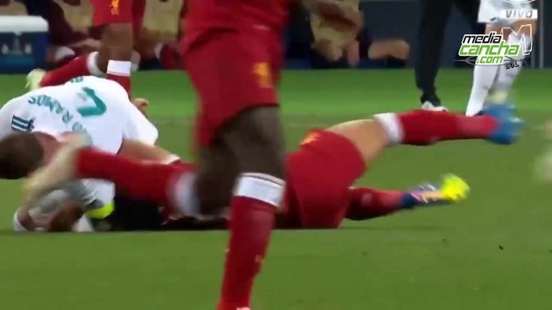 Salah recibe tratamiento en España