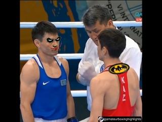 Batman vs Joker (Казахстанский бой в 60кг, , межд.турнир, 07.06.2018)