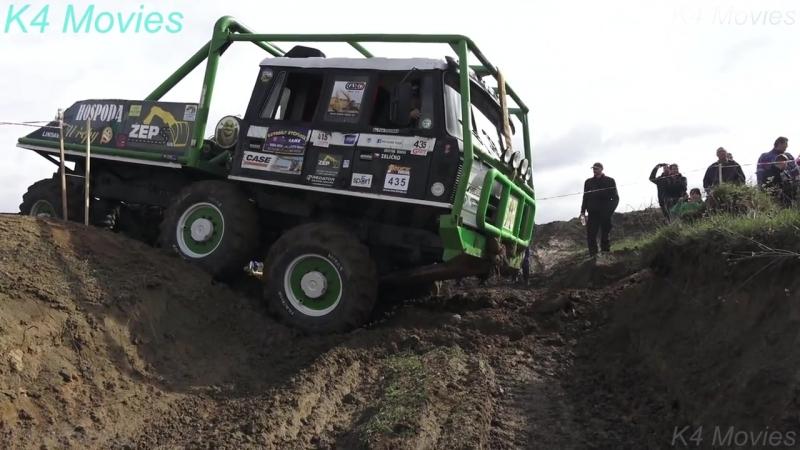 6x6 Truck Trial Tatra, Ural, Praga Off-Road Truck Competition _ Milovice