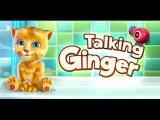 Ginger Прикол - очень смешной и прикольный котенок, забавный котик, кот, кошка - Мультик для детей