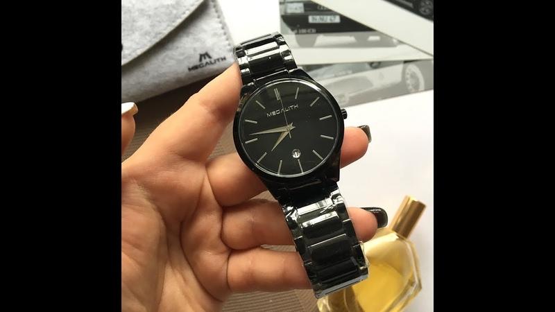 Качественные мужские часы MEGALITH с Алиэкспресс (покупки с Aliexpress)