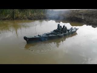 [мир моих танков] линкор missouri из пластилина 14 кг и почти не затопляемый корабль