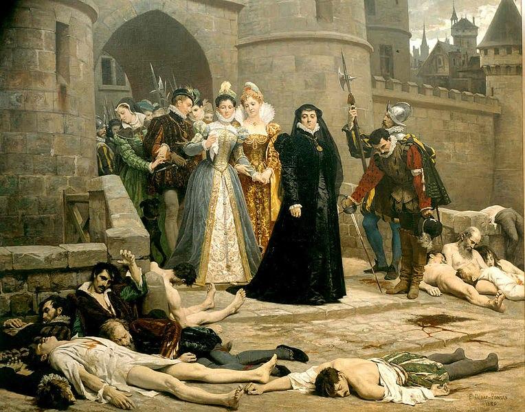 НАША ИСТОРИЯ. Сходство с Францией - Опричный террор и Варфоломеевская ночь. Проклятие тиранов