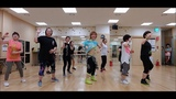 Pegate mas(Version bachata)-Javier Roman Zumba Korea TV