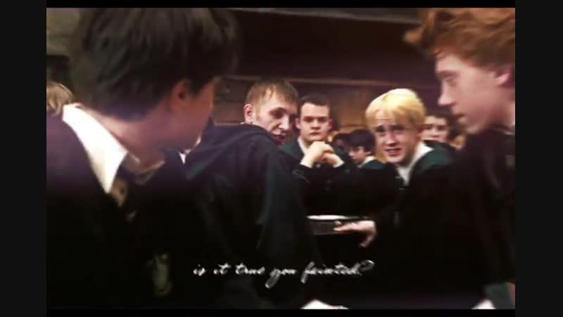 Draco malfoy x harry potter vine edit | drarry