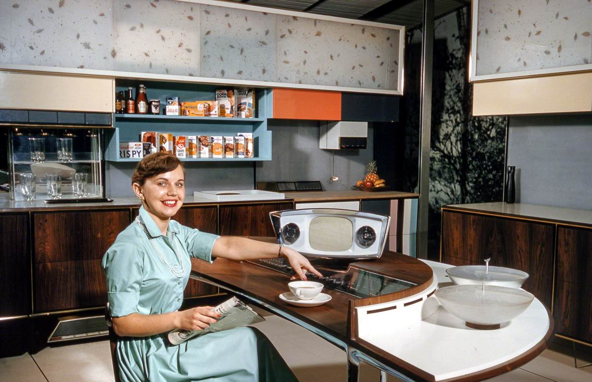 Теперь у меня весь мир под рукой: Мечта домохозяйки (1959 год)