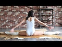 Amazing Contortion Training contortion flexibility yoga - stretching routine standing splits