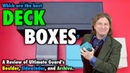 A Review of Ultimate Guard Deck Boxes for Magic The Gathering, Pokemon: Boulder, Sidewinder, Archive
