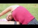 Seated Wide Leg Hamstring and Oblique Stretch | Side Stretch Yoga