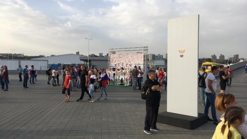«Ростов-Арена» перед матчем России против Чехии