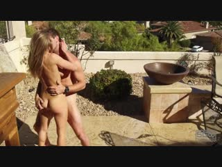 Sparksgowild - mansion backyard fucking outdoors cum inside - порно, секс, анал, минет, домашнее, porn, sex, teen, anal, 2019