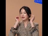 Деловая прическа от Vogue Korea