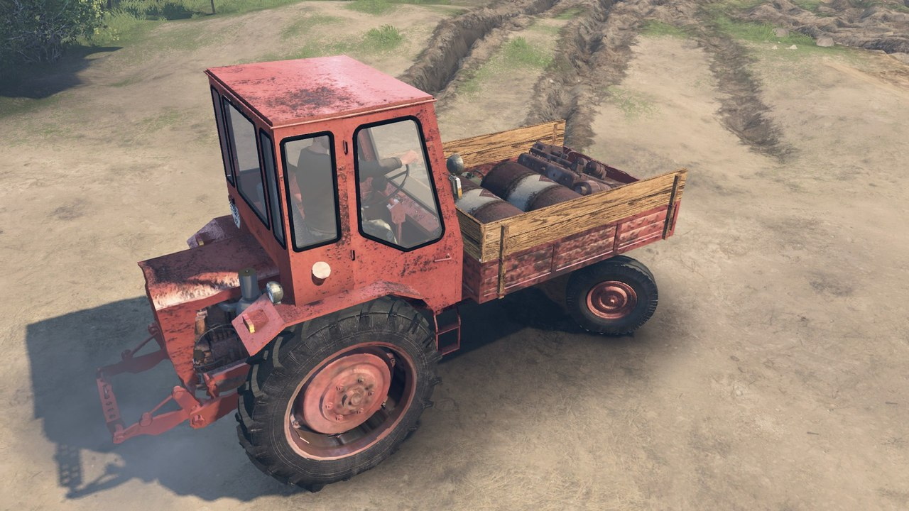 Трактор T16 для 03.03.16 для Spintires - Скриншот 2