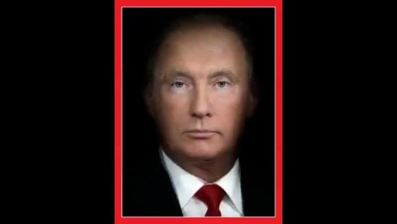 Издание Time совместило лица президента России Владимира Путина и американского лидера Дональда Трампа на обложке нового номера