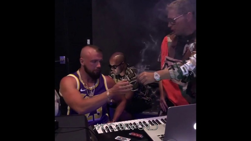 Scott Storch in the Studio with Kollegah