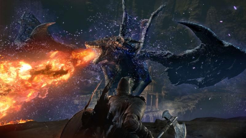 Di-Hunter c доблестными фантомами VS Мидир, Пожиратель Тьмы. (Dark Souls 3 The Ringed City)
