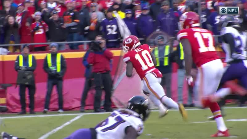 [1920x1080] True View Patrick Mahomes Hits Tyreek Hill on Crucial 4th Down in 360 degrees