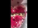 Сердце из роз 💖