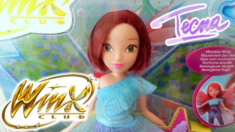 Winx Club - Tecna Bloomix Fairy - Doll Review