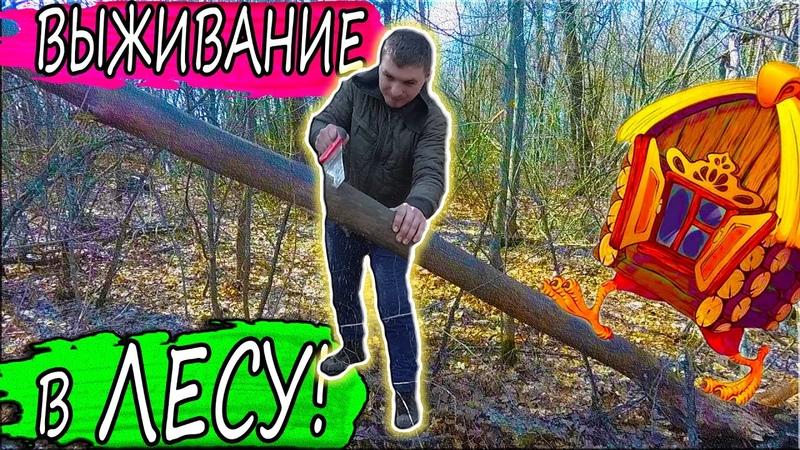 Домик в лесу DIY Начало выживания Когда Чернобыль