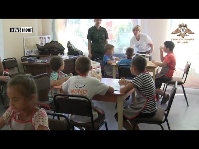 Арт-терапия для детей военнослужащих ДНР