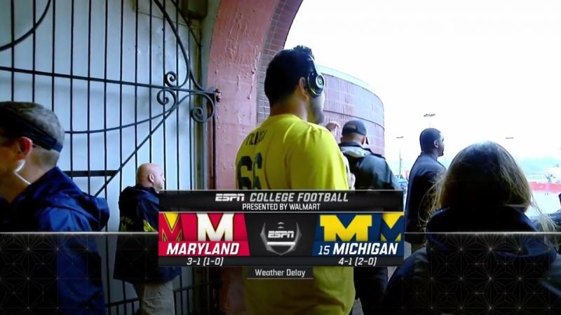 NCAAF 2018 Week 06 Maryland Terrapins 15 Michigan Wolverines EN