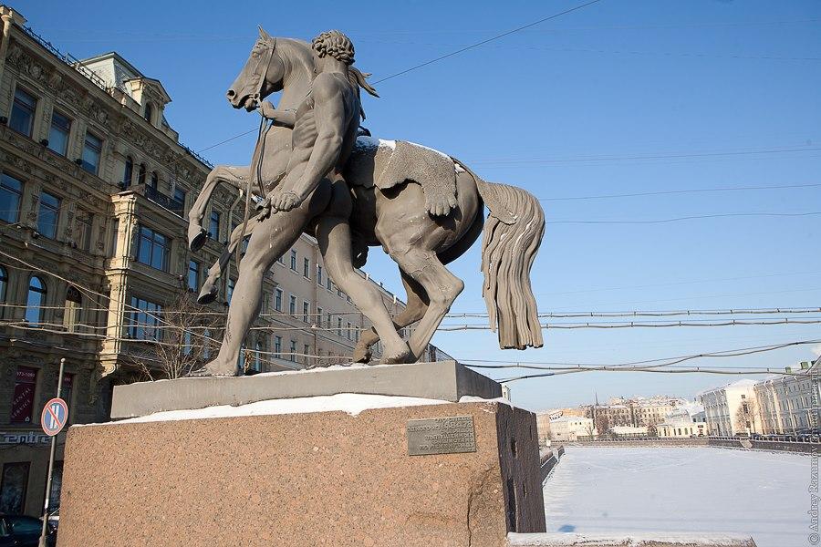 Санкт-Петербург экскурсия Невский проспект Аничков мост Клодт