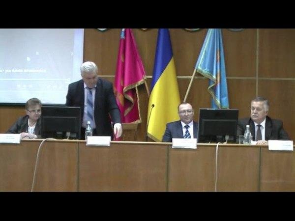 Публічний звіт очинникаТульчинської РДА за 2017 рік