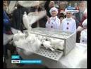 Ставропольские голуби в небе Севастополя