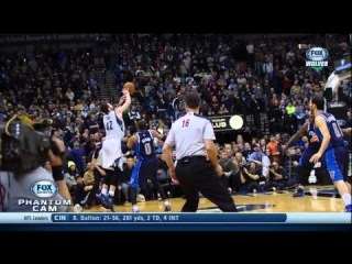 Kevin Love Final Possession, Shawn Marion Hits Arm
