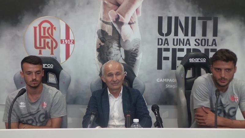 Conferenza stampa di presentazione di Prestia e Tentoni