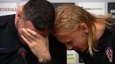 Croatia goalkeeper ' Danijel Subasic ' breaks down in tears during media conference