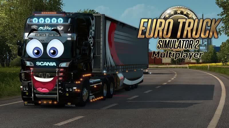 Грузовые перевозки по Европе 1(Мультиплеер). Euro Truck Simulator 2.