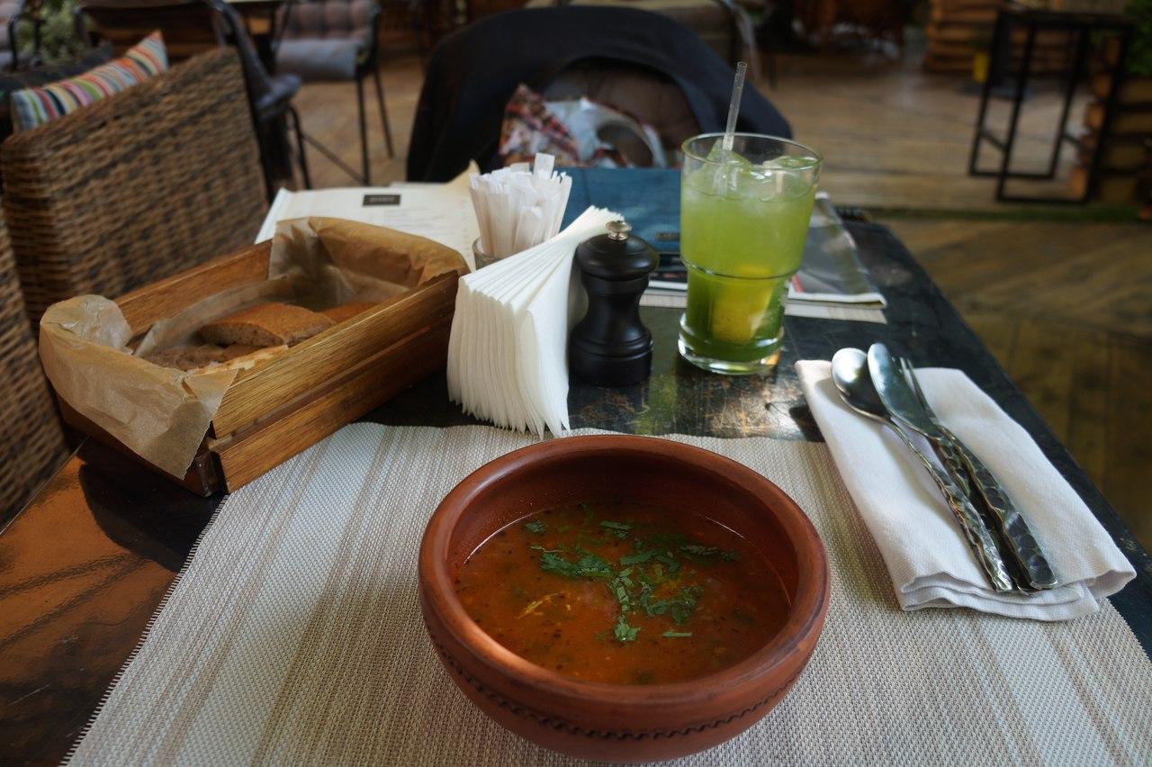 Ресторан DI DI на Тверском бульваре. Голод по-грузински